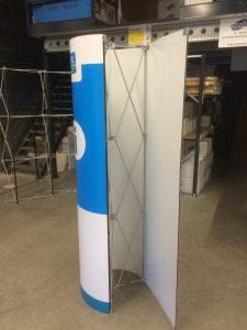 Expolinc Pop-Up Toren met oprolbare printbanen