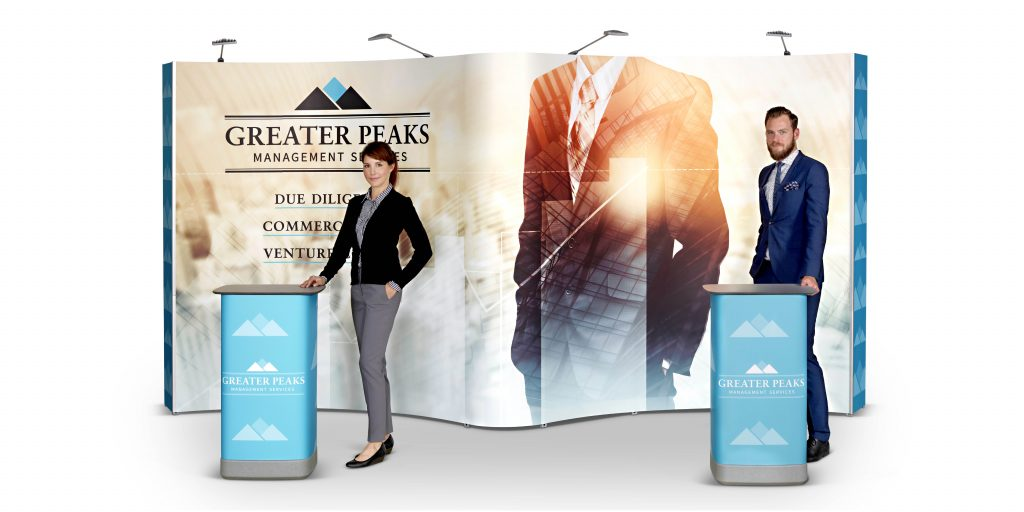 Expolinc Pop-Up Greater Peaks beursstand