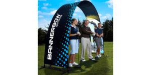 Bannerbow voor sportteams
