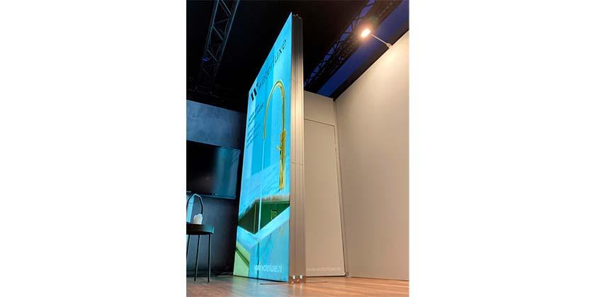 Watreluxe Light Frame lichtbak 3m hoog